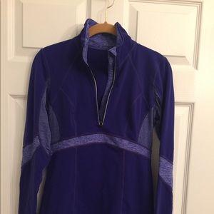 Lululemon Royal/Indigo 1/2 Zip Long Sleeve Top 6